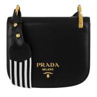 Prada Schoudertassen - Pionniére Bag Nero in zwart voor dames