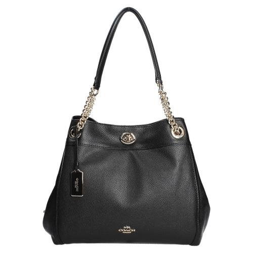 Coach Turnlock Edie shopper black Outlet Nicekicks Amazon Te Koop Voordelig Kopen In Nederland 4bxk1CLYXW