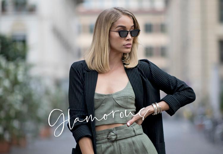 5x kledingadvies voor de glamorous stijl