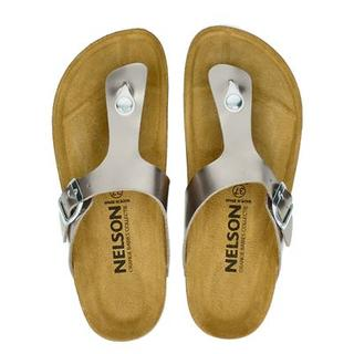 slippers taupe