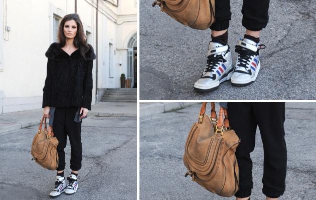 Streetstyle: sneaker statement
