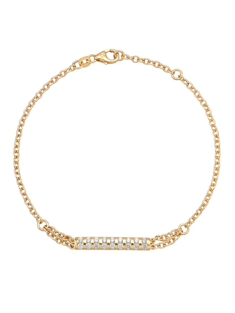 Diemer Diamant Armband met briljanten wit Gratis Verzending Voor Nice Breed Scala Van Goedkope Online Goedkope Laagste Prijs fskmtjgh
