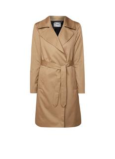 Madison trenchcoat in katoenblend met strikceintuur