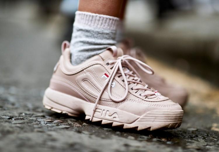 18x de leukste roze sneakers