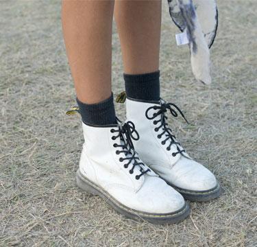 Festival boots die in de sale zijn