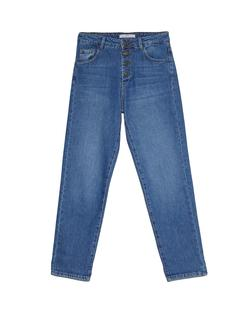 Mom fit jeans Donkerjeans