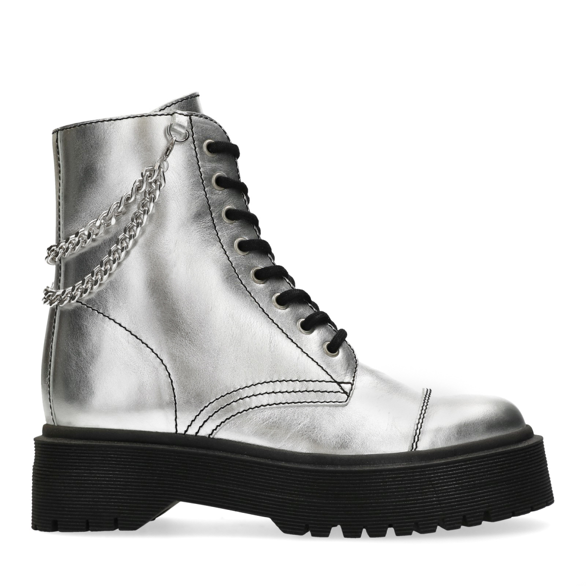 Metallic Marijezuurveldx Boots Sacha Sacha Biker lTcK1JF