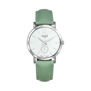 horloge met een mintgroene band