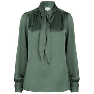 Dames Blouses in Polyester (Groen)
