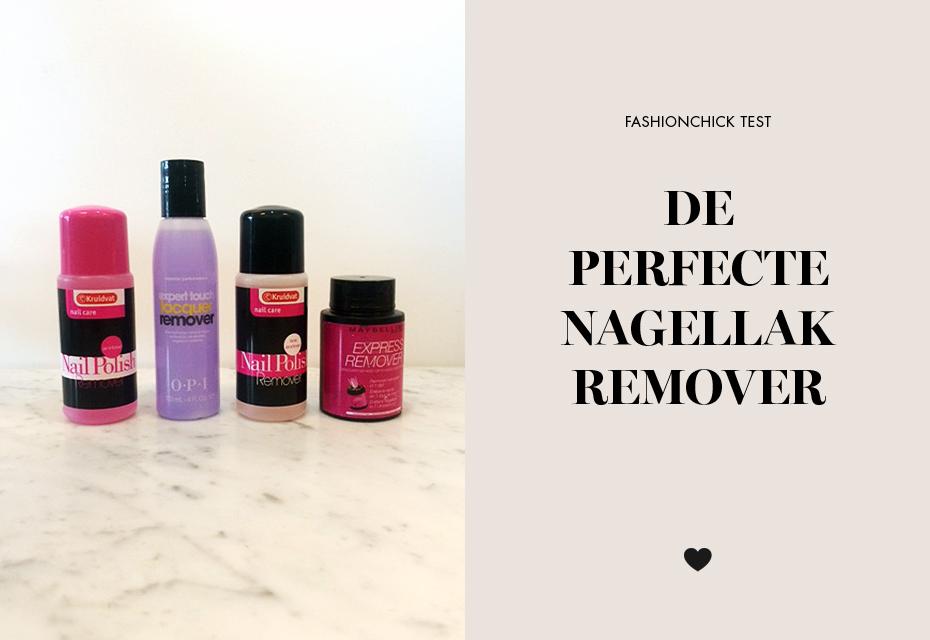 Nagellak remover test Fashionchick